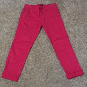 Tommy Hilfiger Pink Crop Pants